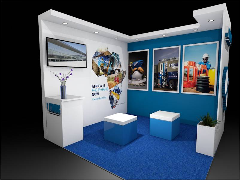 Stand out in kenya with custom stands by Simply Mammoth Solutions