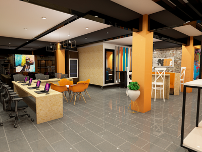 Simply mammoth solutions Kenya office design