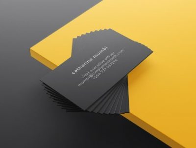 Business card designs for Simply Mammoth Solutions
