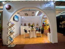 Jacaranda hotels expo stand at Sarit center by simply mammoth solutions Kenya