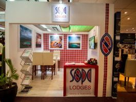 Sopa lodges expo stand design by simpl ymammoth solutions for Sarit centre getaway expo