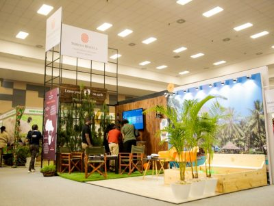 Serena hotels Custom made award winning expo stands at Sarit Centre Getaway Expo November 2019