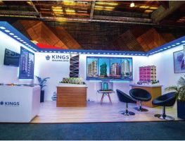 Kings Developer expo stand at Kenya home expo by simply mammoth solutions